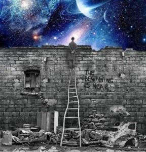 az Élet a falaidon kívül áramlik...