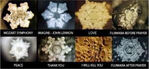 vizkristalyok viselkedése
