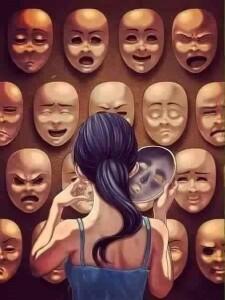 álarcok a hazugságainkhoz